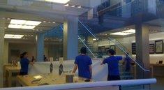 Apple Stores bereiten sich auf neue Produkte vor & Neue iPhone 4G Pics