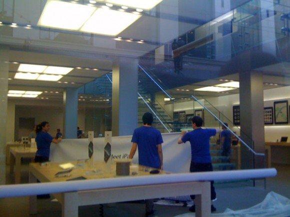 Apple Stores bereiten sich auf neue Produkte vor &amp&#x3B; Neue iPhone 4G Pics