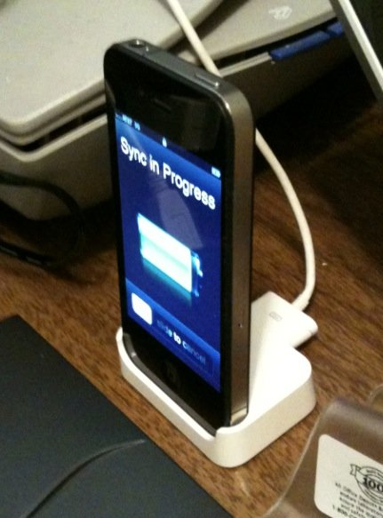 iPhone 2G Dock mit iPhone 4 kompatibel