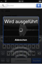 Google Sprachsuche auf Deutsch