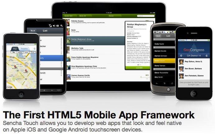Sencha Touch: HTML5 Framework für iOS und Co.