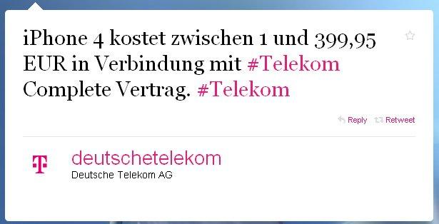 iPhone 4: Neue Preisinformationen für Deutschland