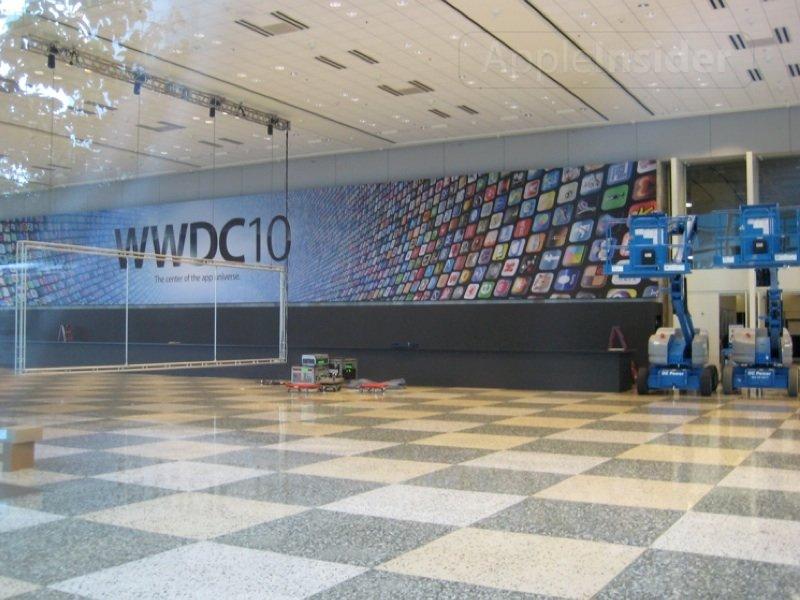Apple bereitet sich auf die WWDC 2010 vor