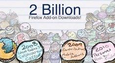Firefox feiert zwei Milliarden Add-on-Downloads