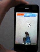 Jonglieren mit dem iPhone, aber ohne Ball