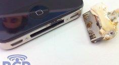 iPhone 4: Beim Laden in Flammen aufgegangen