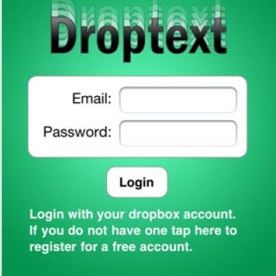 Droptext-App fürs iPhone: Textbearbeitung in der Dropbox