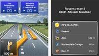 Navigon MobileNavigator 1.6: iOS 4-Unterstützung und Clever Parking