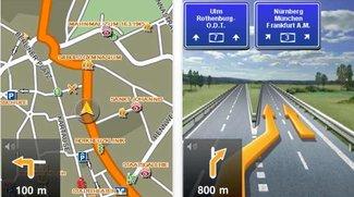 Navigon select: Version 1.2 mit Multitasking und Clever Parking