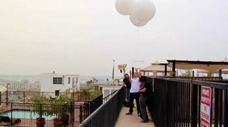 Dank Ballons: iPhone 4 macht Luftaufnahmen