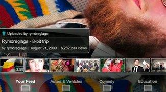 YouTube Leanback: Videos wie Fernsehprogramm