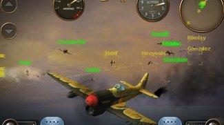 Skies of Glory: Luftschlachten mit Android-Benutzern