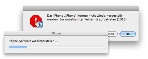 iPhone-Downgrade-Extraktion