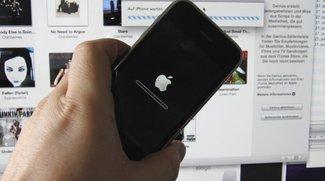iPhone und iPod touch: Von iOS 4 auf ein älteres Betriebssystem zurücksetzen