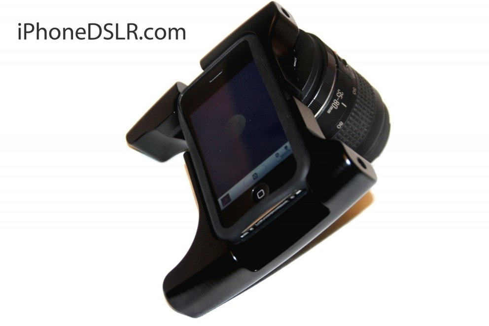 Fotos und Video: iPhone 4 DSLR Prototype