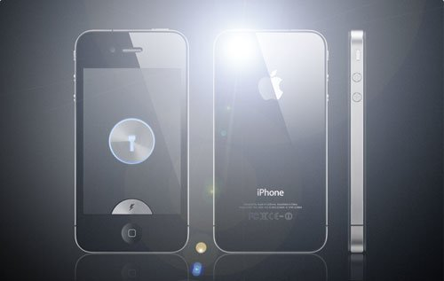 LED Light for iPhone 4 free