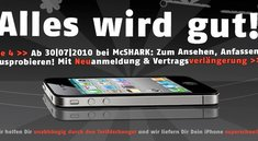 Kleiner Tipp: iPhone 4 Verkaufsstart auch bei McShark