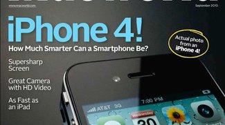 Macworld Cover Foto: Aufgenommen und Editiert mit einem iPhone 4