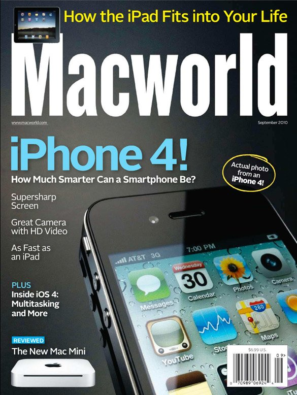 Macworld iPhone 4 Cover