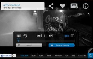 tape-tv musik hören