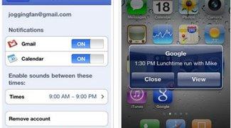 Google Mobile App bietet Push-Benachrichtigung