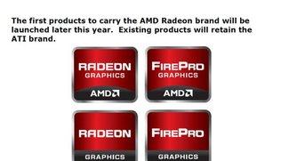 AMD lässt ATI als Markennamen verschwinden