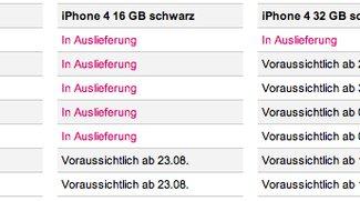 Telekom: iPhone-4-Lieferungen kommen früher