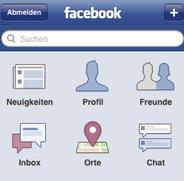 Facebook-App lernt Lokalisierung