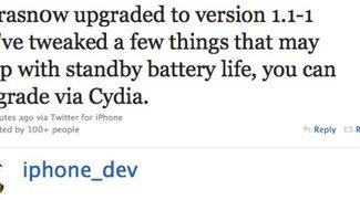 ultrasn0w v1.1-1: Neue Version des iPhone Unlocks