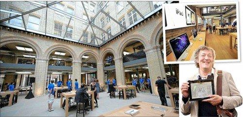 Apple Store Covent Garden - Foto (C) Evening Standard