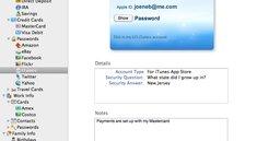 eWallet für Mac: Begleiter für iPhone-App