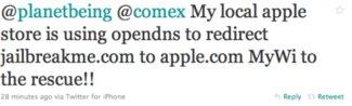Apple blockt JailbreakMe.com in den Apple Stores