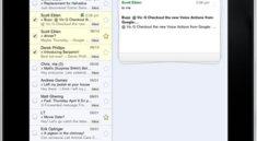 Update für iPad-Oberfläche von Google Mail