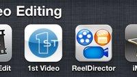 Video Editing: Die besten Apps für iPhone 3GS und iPhone 4 im Test