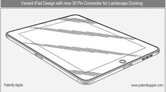 iPad-Designpatente: Zweiter Dock-Anschluss, potentielle Kamera und mysteriöse Fläche