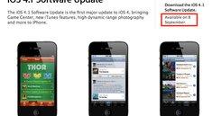 iOS 4.1 am 8. September: Englische Apple Seite kündet an