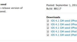 iOS 4.1 GM und Xcode 4 Developer Preview 3 für Entwickler verfügbar