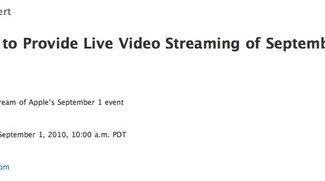 Heute Abend: Übertragung von Apple-Keynote als Live-Stream