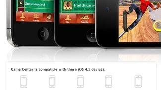 Game Center funktioniert auf iPod touch 2. Generation - nicht auf iPhone 3G