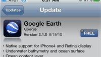 Google Earth Update: Unterwasserkarte und Retina Support