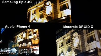 PhoneArena testet Kameras von Samsung Epic 4G, iPhone 4 und Droid X