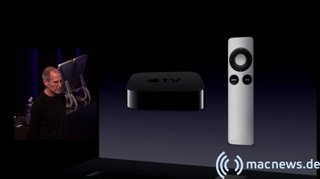 Apple Keynote: Apple TV mit Remote
