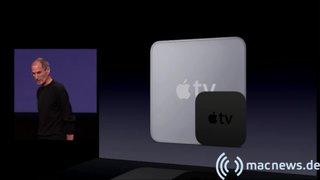 Apple Keynote: Apple TV Vergleich