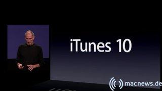Apple Keynote: iTunes 10
