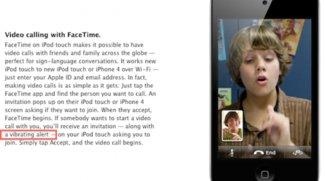 Der neue iPod touch 4G kann vibrieren