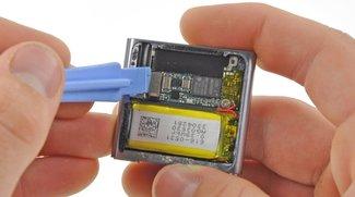 iPod nano geöffnet: Große Batterie und hohe Display-Auflösung