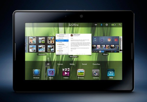 Blackberry PlayBook: RIM präsentiert iPad-Konkurrenten