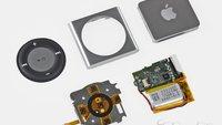 iPod shuffle geöffnet: Viel Fummelei und Geduld