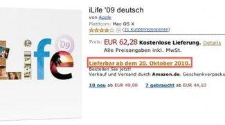 Variationen bei Lieferzeiten von iLife '09 und Macs