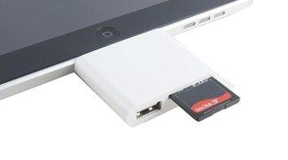 iPad-Adapter von Dritthersteller vereint USB-Anschluss und Kartenlesegerät
